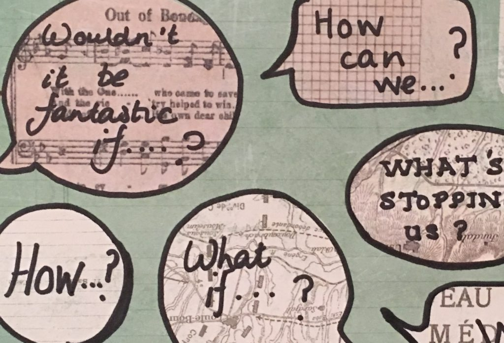 The Creative Power of Questions