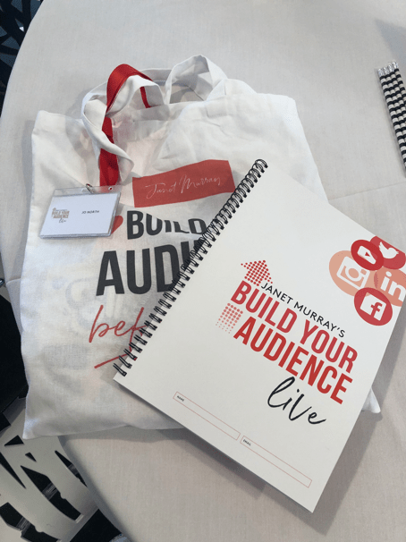 #BYA2019, agenda, business growth, online audiences, freebies, goody bag, conference gifts