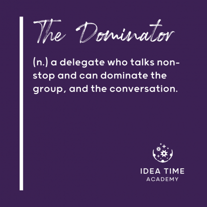 Definition of the Dominator delegate behaviour.