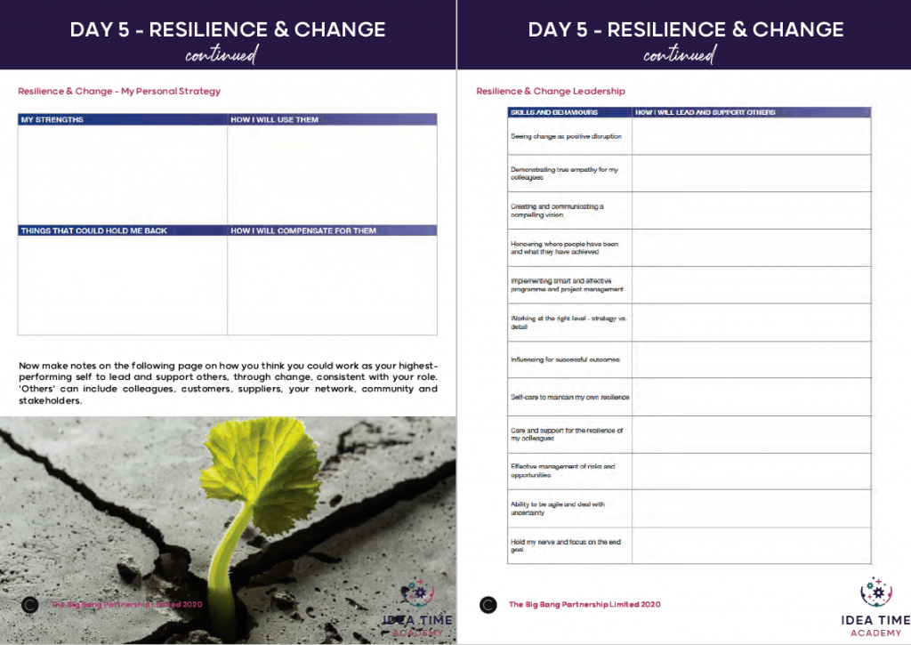 resilience plan for entrepreneurs inside the creative reset 2020 playbook