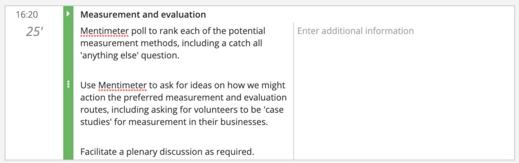 How to design a virtual innovation event agenda segment measurement and evaluation
